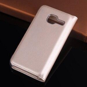Чехол-раскладушка кожаный чехол для телефона для samsung Galaxy J1 мини J 1 Nxt 2016 J1mini J1Nxt J105 J100F J100FN J100H SM-J105 SM-J100F чехол