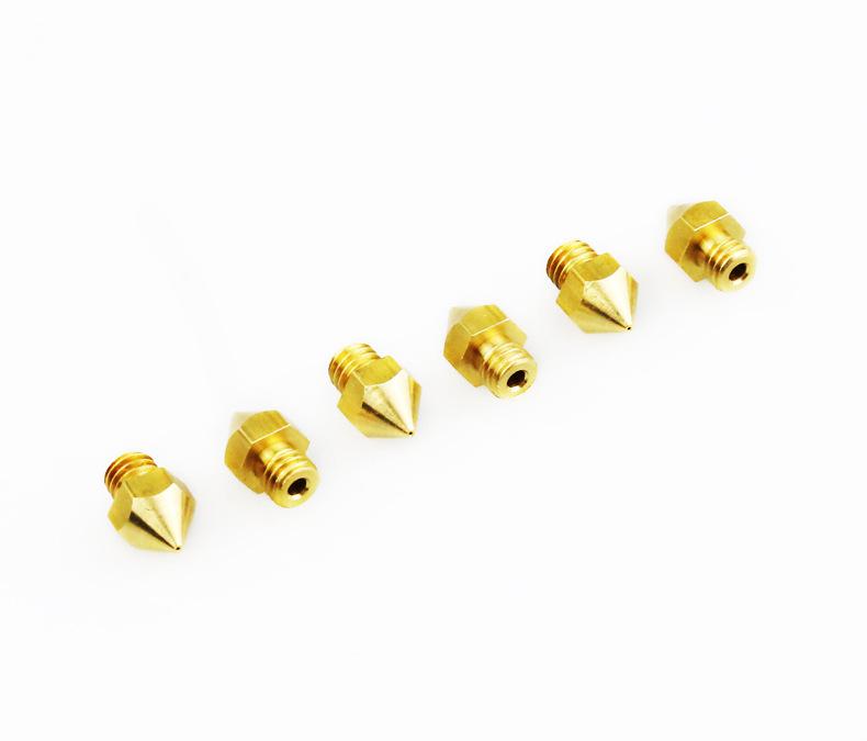 Extrusor Nozzle boquilla para impresoras 3D variedad de tamaño