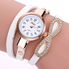 Duoya Brand New Fashion Watch Women Luxury Leather Wristwatch Bracelet Watch Women Dress Casual Classic Quartz Watches DY062