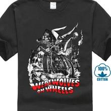 Werewolves On Wheels Werewolf Biker Gang 70S MenS T Shirt Black Size S To Xxl