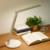 Moderna Lâmpada de Mesa LEVOU Mesa de Escritório Lâmpada de Trabalho 5-nível Dimmer Touch Control Luzes de Leitura de Cabeceira Estudo Dobrável Candeeiro De Mesa PC