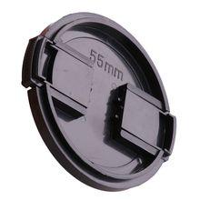 55MM uniwersalna plastikowa osłona przednia osłona obiektywu osłona ochronna do aparatów Sony Canon Pentax DSLR akcesoria do filtrów tanie tanio DNVYUAX 7HH58585