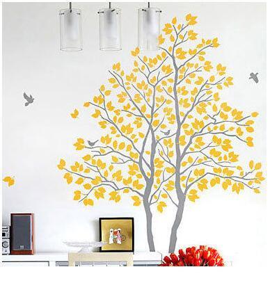 aliexpress : buy large tree bird flower kids window wall