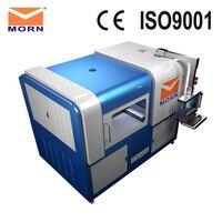 750W 6090 all cover enclosed mini fiber laser cutting machine for all metal