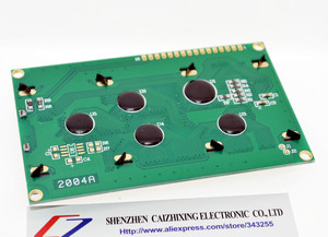 Image 3 - SUQ LCD Board 2004 20*4 LCD 20X4 5Vหน้าจอสีน้ำเงินLCD2004จอแสดงผลLCDโมดูลLCD 2004สำหรับarduino
