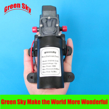 5L/Min. DC12V 60W  Automatic Switch Micro Diaphragm Water Pump High Pressure Misting Pump стоимость