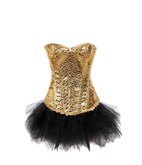 8b82994e6c 2014 Hot Sexy Gold PU Leather Corset Bustier TUTU Lingerie Costumes Set  845+7008 small To Plus Size 6XLwalsonrockab-in Bustiers   Corsets from  Underwear ...