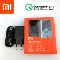 Original Xiaomi Fast Charger 12V /1.5A EU QC3.0 Quick Charge power adapter Usb 3.1 Type-C cable For Mi 8 6 5 Mix 3 2s 2 Mi A2 A1