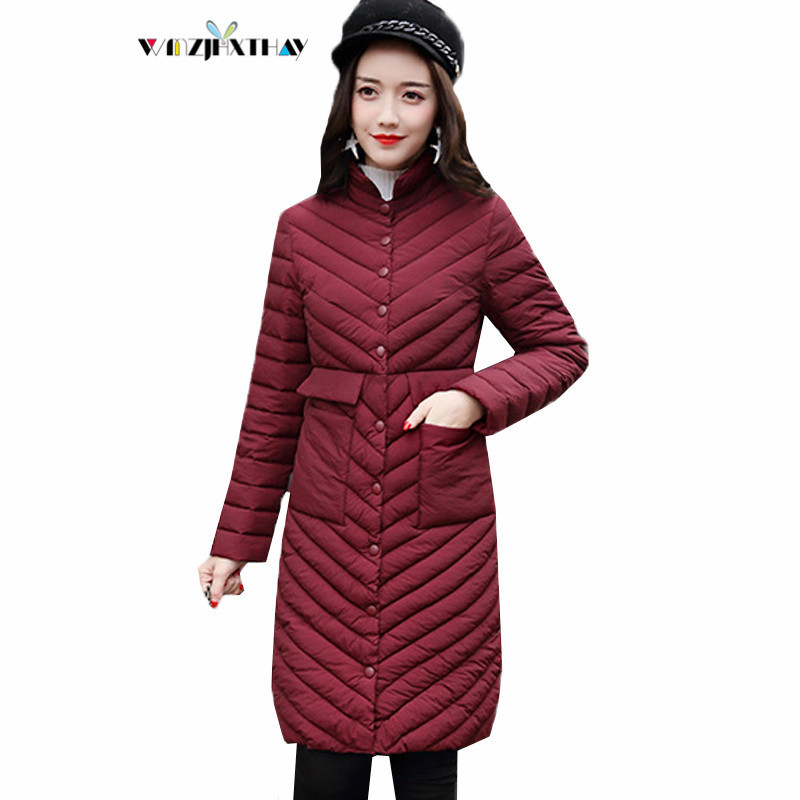 D'hiver Poches Le Bas Couleur Vers Slim Femmes Coton Survêtement Red Nouvelles Longues Parkas Casual Mode 2018 Black jujube Manteau Vestes Green De Mf037 Solide Femelle gray army 0qzzdar