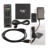 Profesional X96 S905X 2G + 16G de Cuatro Núcleos Amlogic de Medios Inteligente Set Top Box TV Box Tops IEEE 802.11 b/g/n Negro