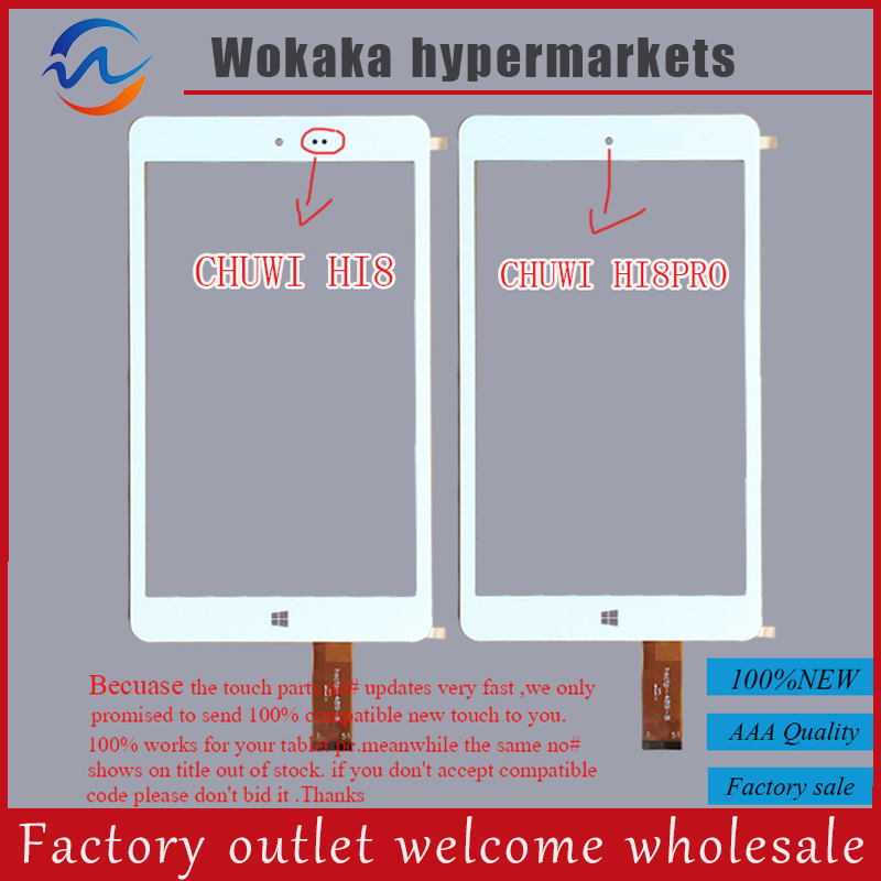 Tempered glass screen For 8 Chuwi hi8 Pro/Chuwi hi8 Tablet touch screen Panel Digitizer glass Sensor Replacement 2016 new fashion keyboard for chuwi hi8 pro tablet pc for chuwi hi8 pro keyboard with mouse