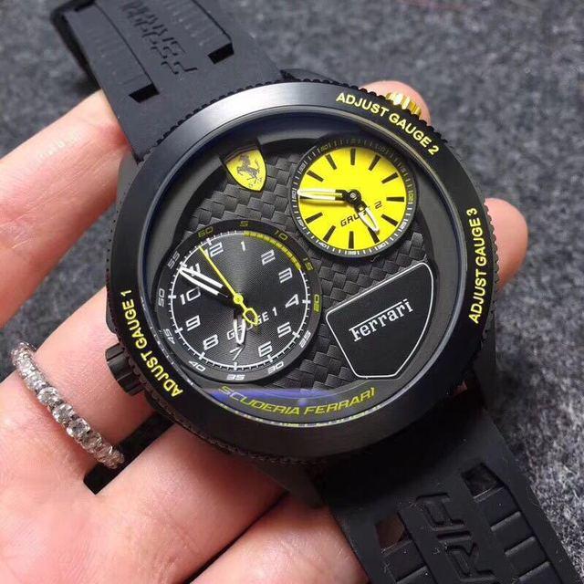 2019 Luxury Brand for Ferrary Men Silicone Strap Watches Fashion Sports Casual Quartz Wristwatch Relogio Masculino Reloj Hombre4