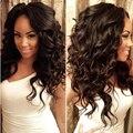 Very Cheap Indian Loose Wave Virgin Hair Meches Bresilienne Lots 1 Bundle Indian Virgin Hair Loose Wave Mocha Hair Company