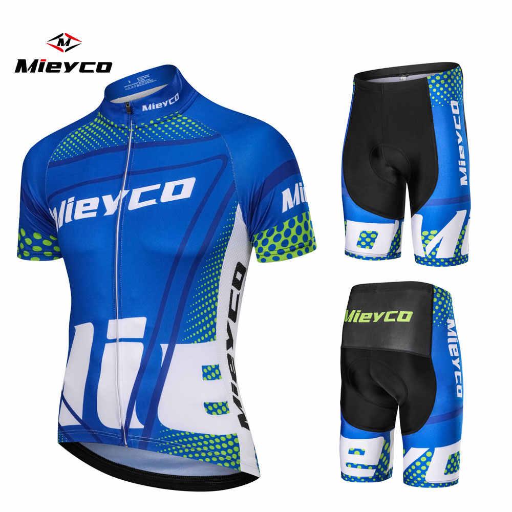 Mieyco גברים של רכיבה על אופניים גופיות 2018 Roupas Ropa Ciclismo Hombre MTB מאיו רכיבה על אופניים/קיץ אופני כביש ללבוש בגדי Cycliste equipe