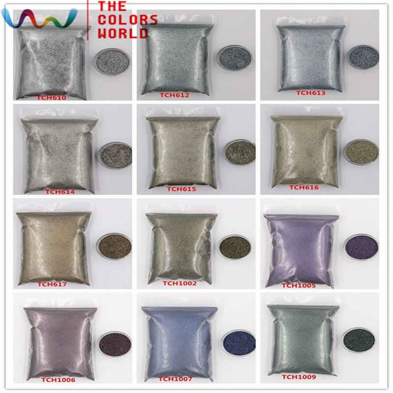 Tct-040 Halloween Glitter colores oscuros 0.2mm tamaño 12 tipos colores lentejuelas para Brillos de uñas Manicura Uñas de gel decoración de DIY