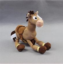 1pcs 25cm Original hot movie Toy Story Plush Bullseye Figure The Horse Cute Doll For Children