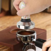Темпер для кофе, экспрессо кофе посуда тамперы 58 мм опорная база порошковый пресс прочный молоток аксессуары для кофе из нержавеющей стали