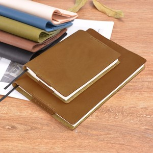 Image 5 - Vintage Genuine Leather Notebook Diary Cover A5 A6 size Handmade Protective Journal Cover Cowhide Sketchbook Planner