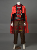RWBY Red Trailer Ruby Rose Cosplay Costume Man Version mp002421