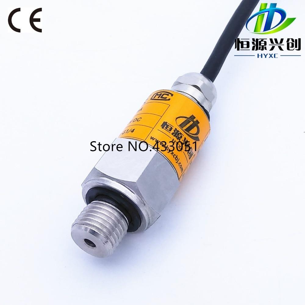 Free shipping ,-1~0~16bar/10bar/25bar, 10-30VDC, G1/4, 4-20mA output, 0.5%, Pressure Transmitter Pressure Transducer Sensor цена