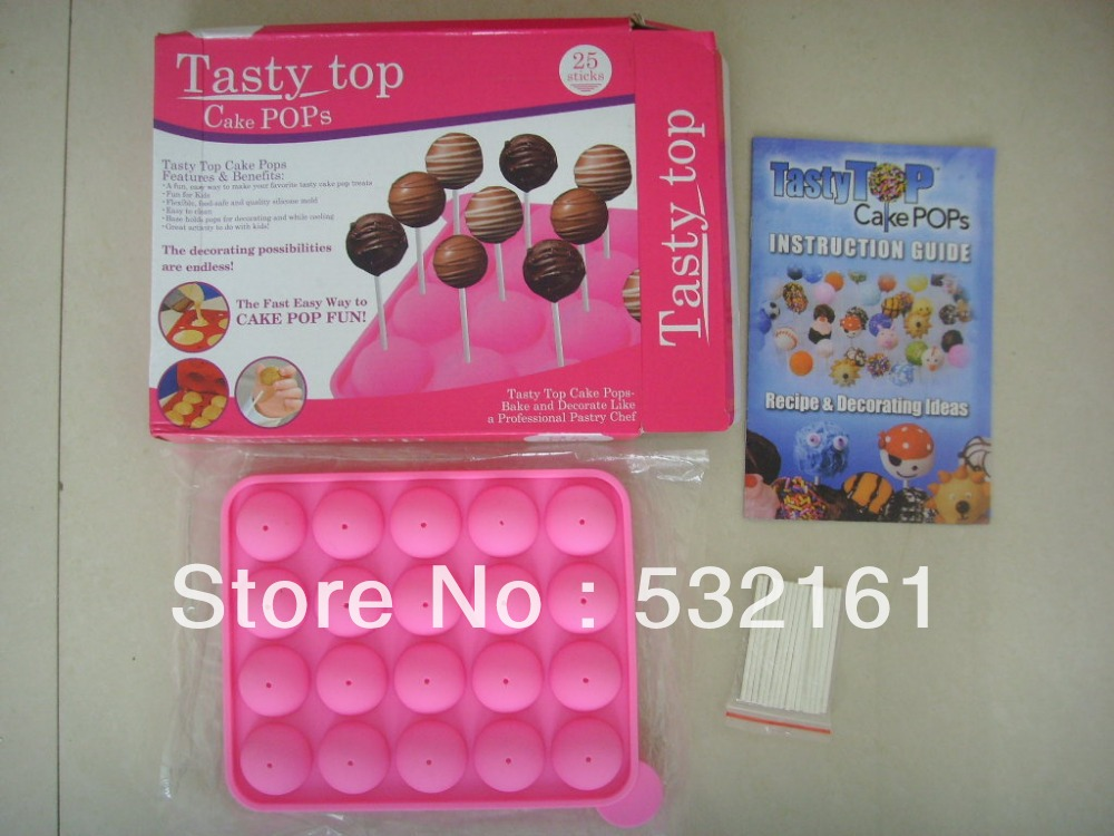 Hot Sale Free Shipping Manual Included 20pcs Tasty Top Cake Pops
