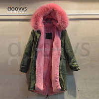 2015 Fashion Apparel Outwear Wholesale Fur Collar Parka Women Factory Price Free Shipping