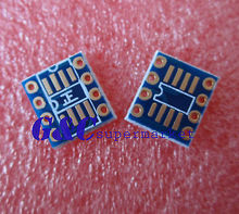 50PCS SOP8 /TSSOP8 TO DIP8 Pinboard SMD to DIP Adapter For AD797 OPA627