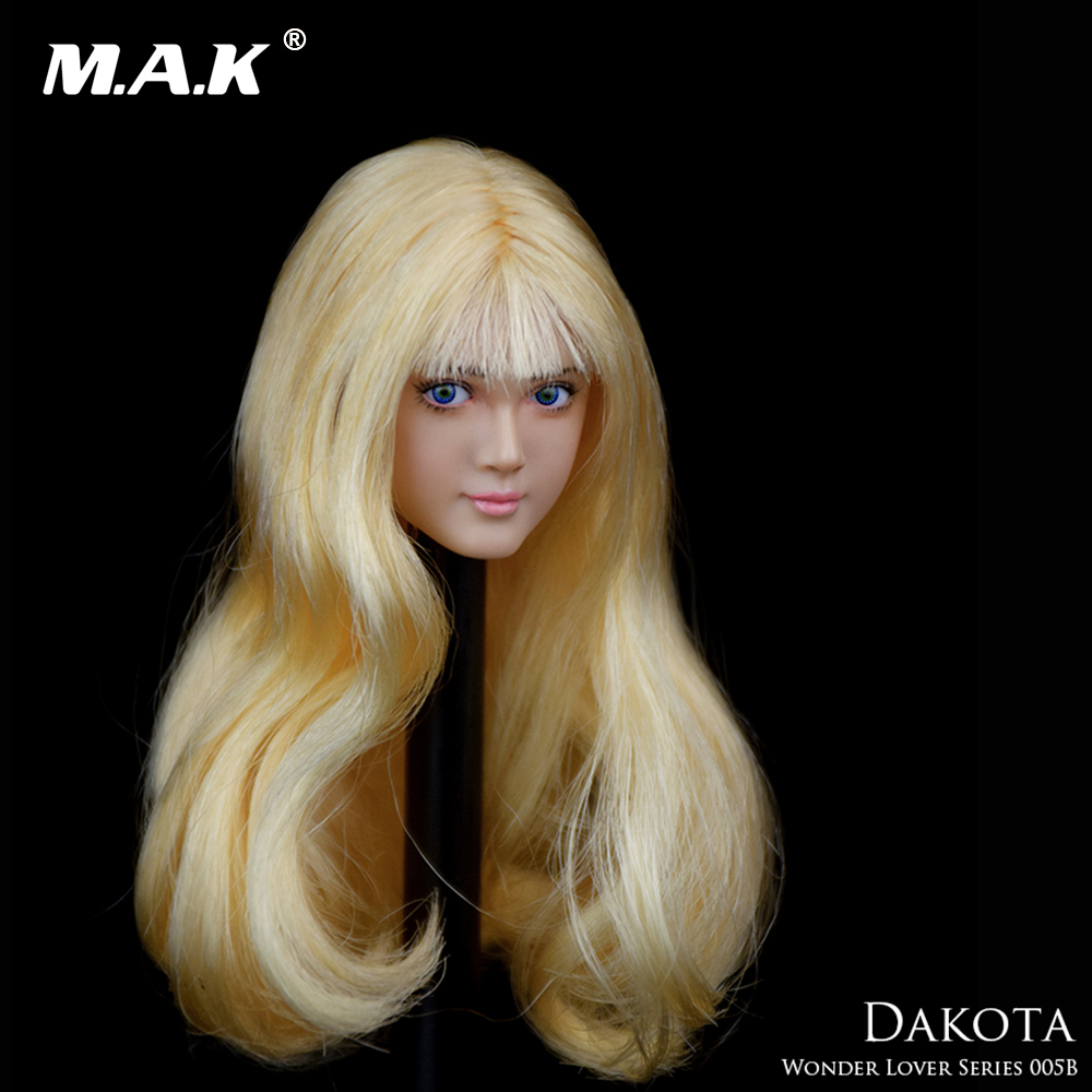 1//6 WONDERY Lover 004 Head Sculpt Model Moveable eyes For Female Body Figure
