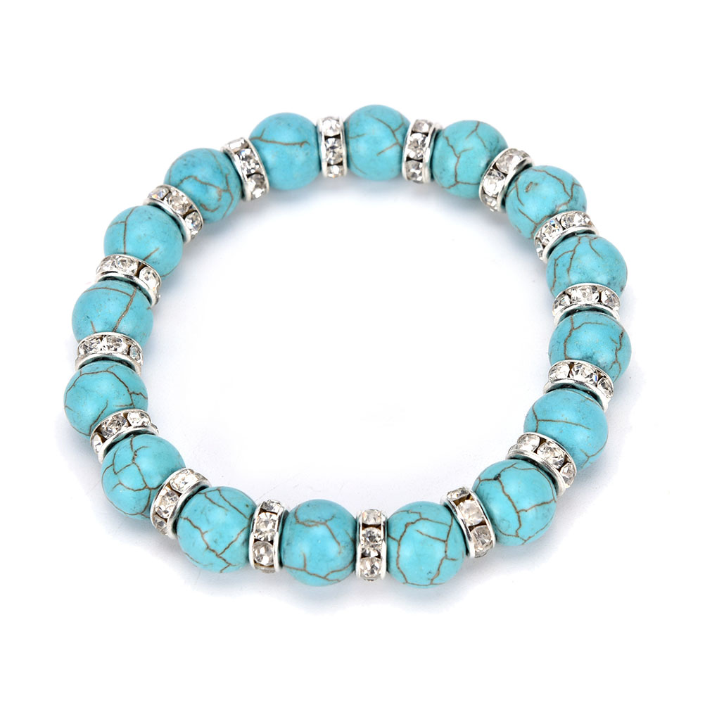 Summer Bracelets: Summer Bracelet Vintage Yoga Mala Silver Jewelry Beads