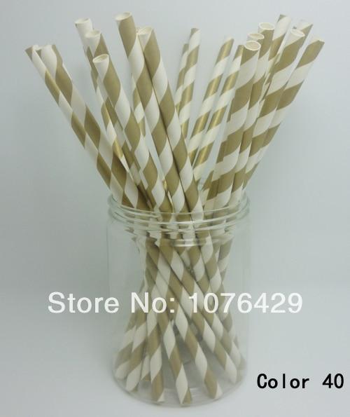 Party Decorations Fun Colorful Diagonal Striped Straws Birthday Wedding