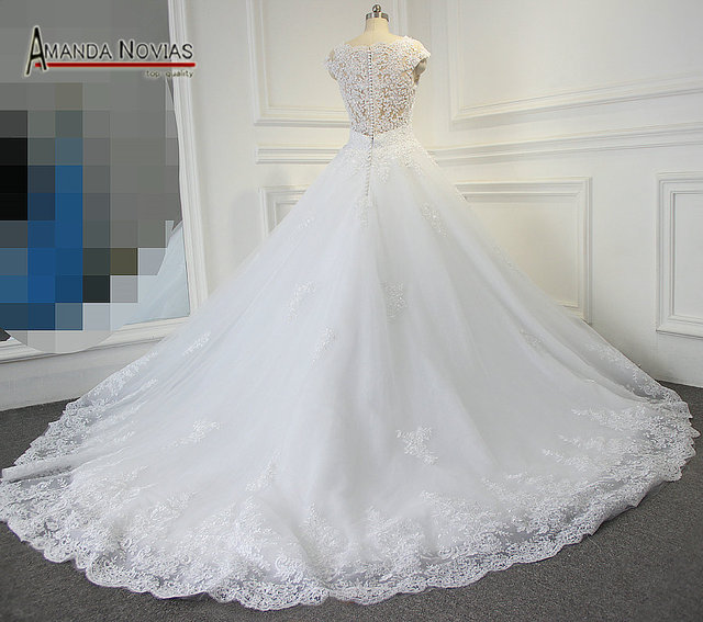 Aliexpress.com : Buy Real Image Luxury Wedding Dresses Embroidery ...