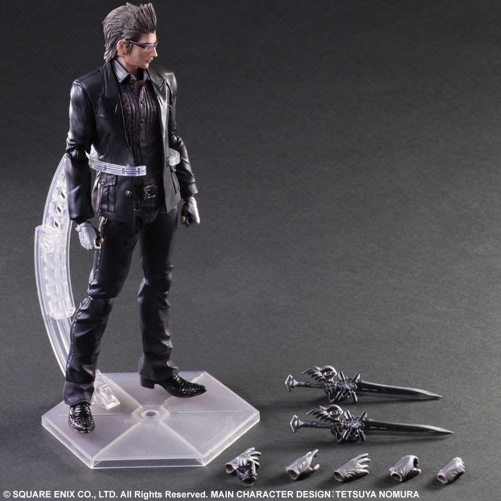 цена на Playarts KAI Final Fantasy XV FF15 Lgnis Scientia PVC Action Figure Collectible Model Toy 23cm KT3344
