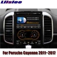 For Porsche Cayenne S V6 92A 2011~2017 MACAN NAVI 2G RAM LiisLee Car Multimedia GPS WIFI Audio CarPlay Radio Navigation MAP