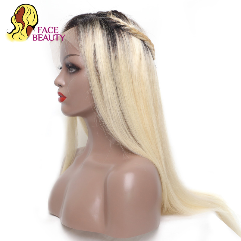 Kind-Hearted 613 Honey Blonde Color Remy Brazilian Straight Lace Front Human Hair Wig 8-26 Inch 1b 613 Ombre Frontal Wigs For Black Women Human Hair Lace Wigs Hair Extensions & Wigs