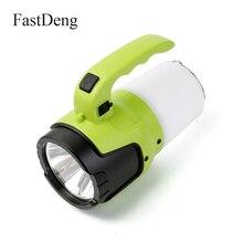 Đèn Pin Led Sạc Điện 10W Di Động Sáng Đèn Lồng Đèn Pha Tìm Kiếm Chống Nước Săn Tích Hợp Pin Cắm Trại Ngoài Trời
