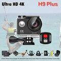 201New! оригинал Экен H9 plus Ultra HD действий камеры 4 К/30fps 1080 P/120fps wi-fi Ambarella A12S75 Идти водонепроницаемый мини-камера pro yi 2