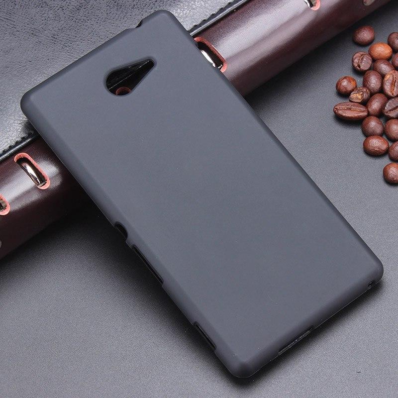 Для Sony m2 S50H d2303 d2305 черный гель ТПУ тонкий мягкий Анти skiding задняя крышка для Sony Xperia M2 телефон резиновый мешок