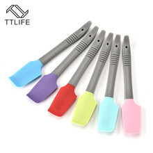 TTLIFE Baking Tools Spatula for Cake Silicone Pastry Kitchen Cream Mixer Ice Scoop Scraper