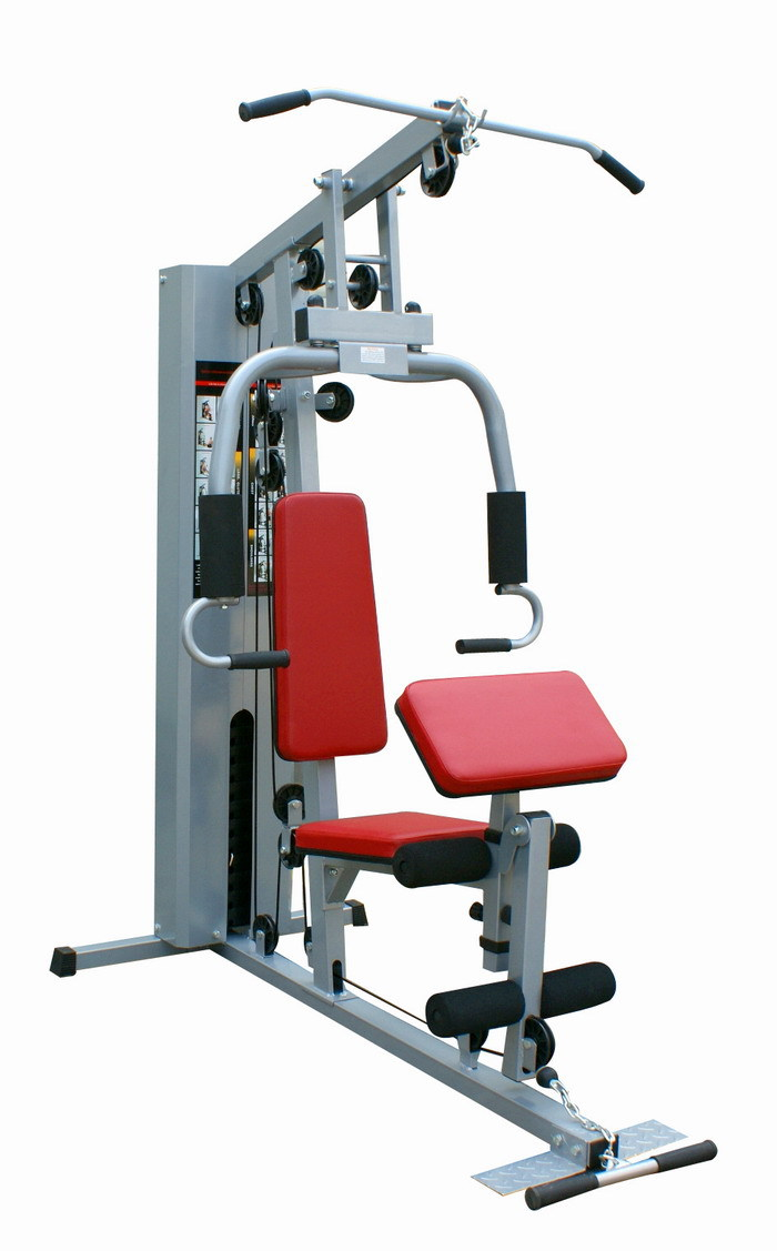 Multi gym station exercise equipment names in integrated fitness