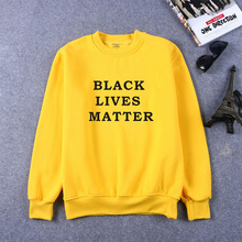BLACK LIVES MATTER Print Women Sweatshirts Casual Hoodies For Lady Girl Funny Hipster Jumper Drop Ship