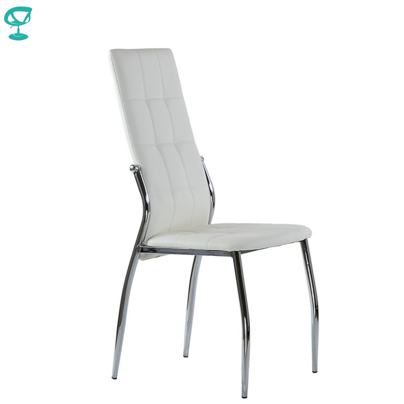 95311 Barneo S-68 Eco-leather Kitchen Furniture Breakfast Interior Stool Chair For Dining White Free Shipping In Russia