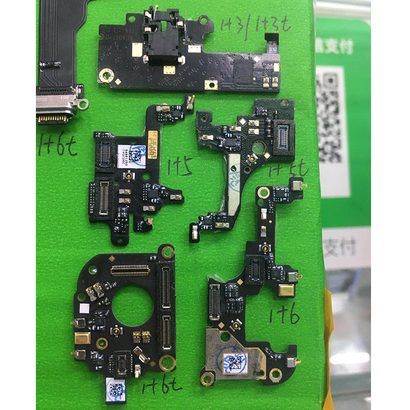 PCB Board Microphone MotherBoard MIC Part Replacement Ribbon Flex Cable For Oneplus 1+ 3 3T 5 A5000 5T A5010 6 6T A6010 A6013