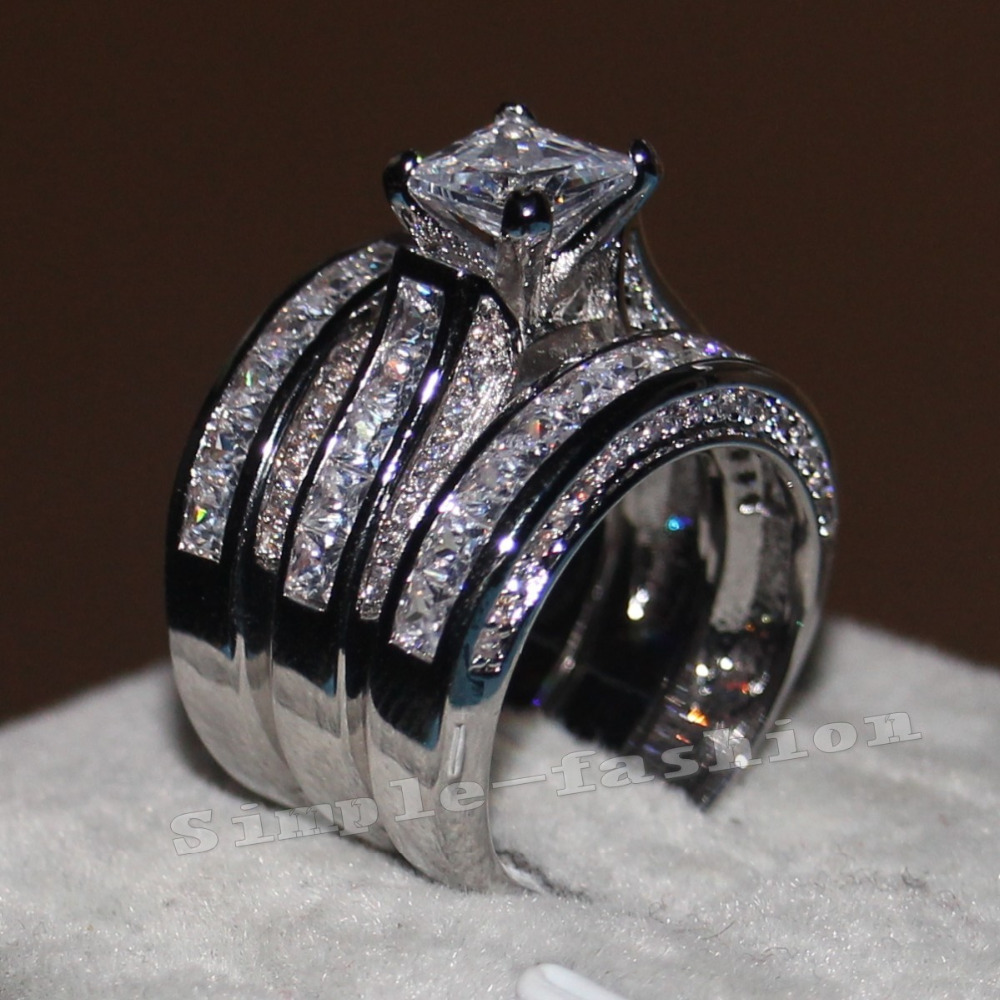 Online Get Cheap 3 Band Wedding Rings -Aliexpress.com   Alibaba Group