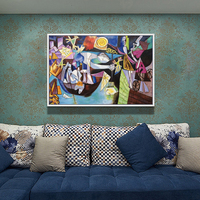 100% Hand Painted Abstract Surrealism Art Oil Painting On Canvas Wall Art Frameless Picture Decoration For Live Room Home Decor