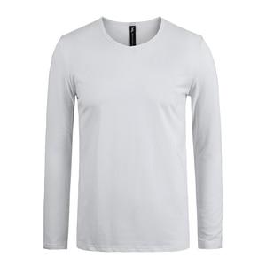 Image 2 - 파이어 니어 캠프 팩 3 단색 긴 소매 티셔츠 남성 브랜드 의류 스트레치 티셔츠 남성 품질 남성 Tshirt 209008