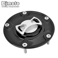 BJMOTO Motorcycle Parts For Ducati Panigale 899 959 1199 1299 CNC Fuel Tank Cap Cover