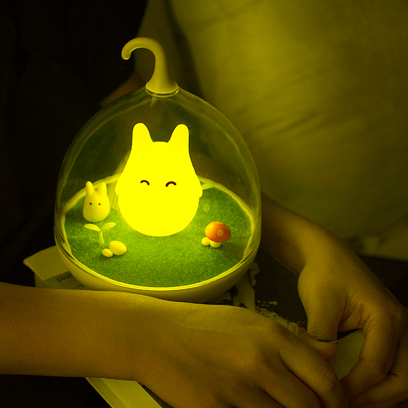 Förderung verkauf totoro lampe tragbare touch sensor usb led baby - Nachtlichter - Foto 6