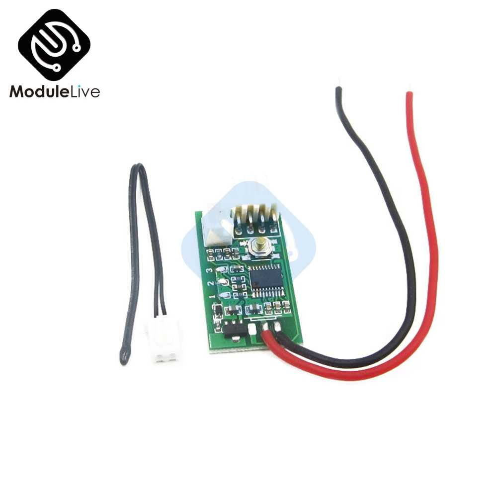 hight resolution of dc 12v pwm 4 wire line fan temperature digital control controller speed regulation for pc fan