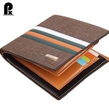 2017 new designer leather wallet men wallets luxury brand clutch wallet Brown money clip men s