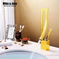 Golden Bathroom Faucet Crane Chrome Finish Waterfall Faucet Bathroom Tap Bathroom Basin Mixer Tap With Hot
